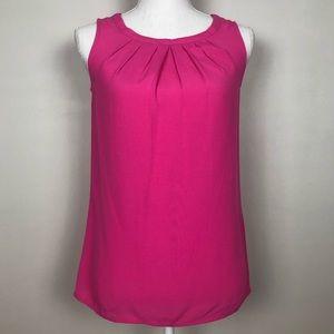 Boden Womens Sleeveless Blouse Hot Pink XS